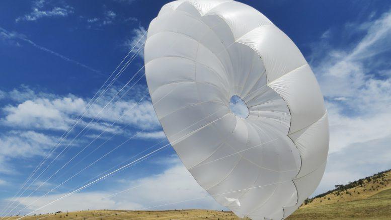 Spadochron zapasowy AirViusa